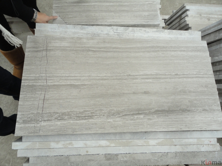 Wooden white China marble