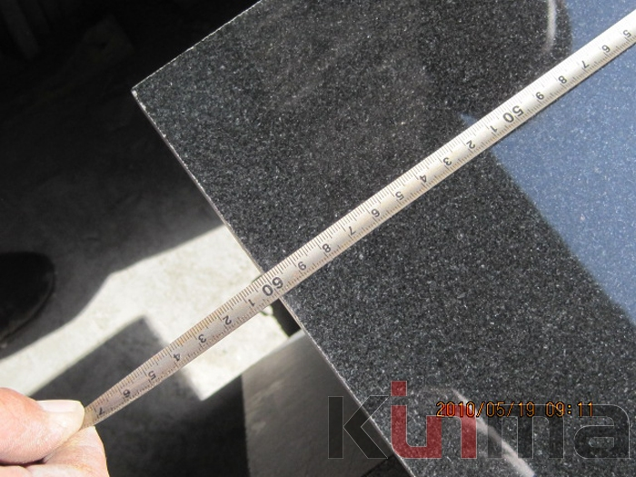 30x60mmTiles China Black Granite