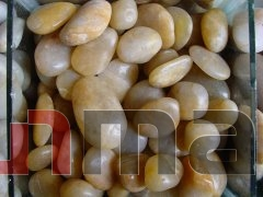 CTPB019 2-3cm Yellow freestone pebbles
