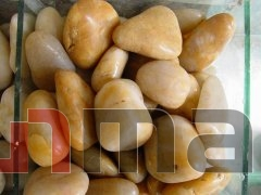 CTPB020 3-5cm Yellow freestone pebbles