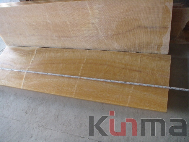 Yellow Onyx Kitchen Countertops 180cmx50cm