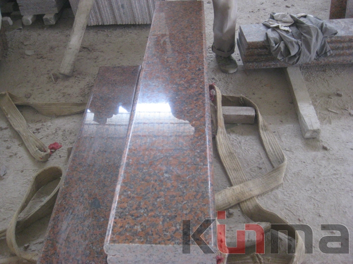 Red granite g562 floor tile for sale