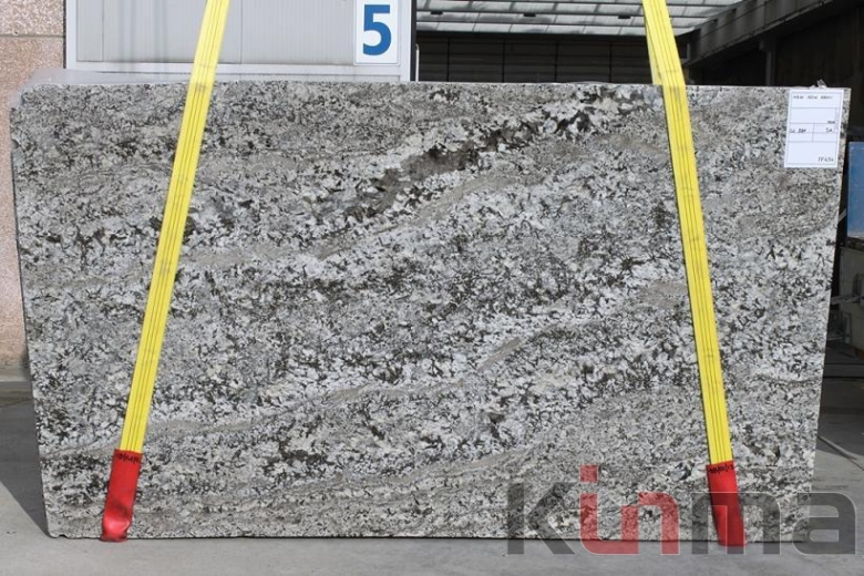 Aran White Granite Slab