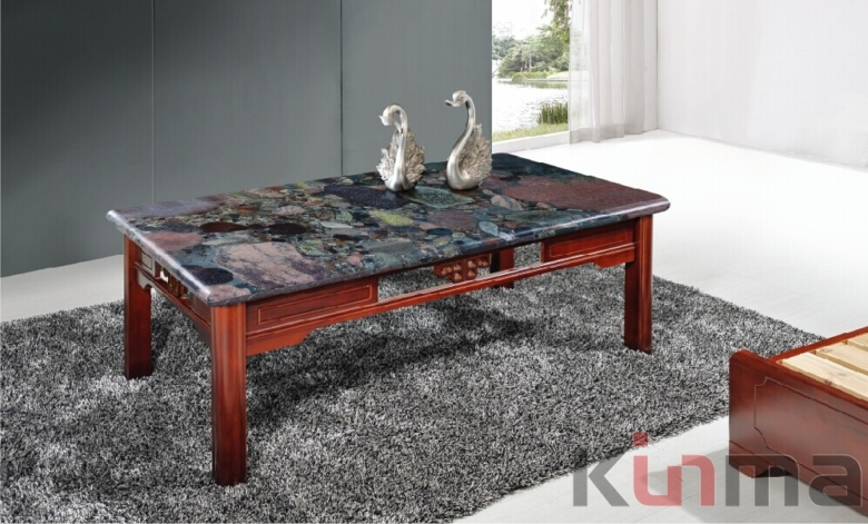 Multicolor Green rectangular table for sale