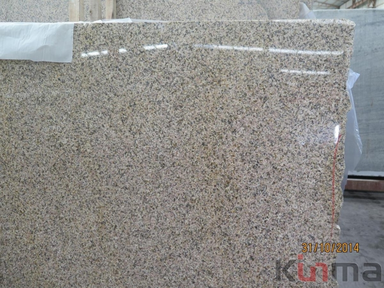 G682 golden sunset granite slab