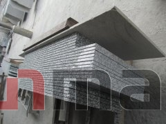 Honed G439 gray granite