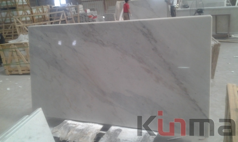 White countertop marble slabs