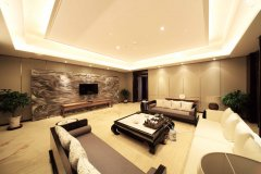 How to adjust the indoor decorative effect by stone color