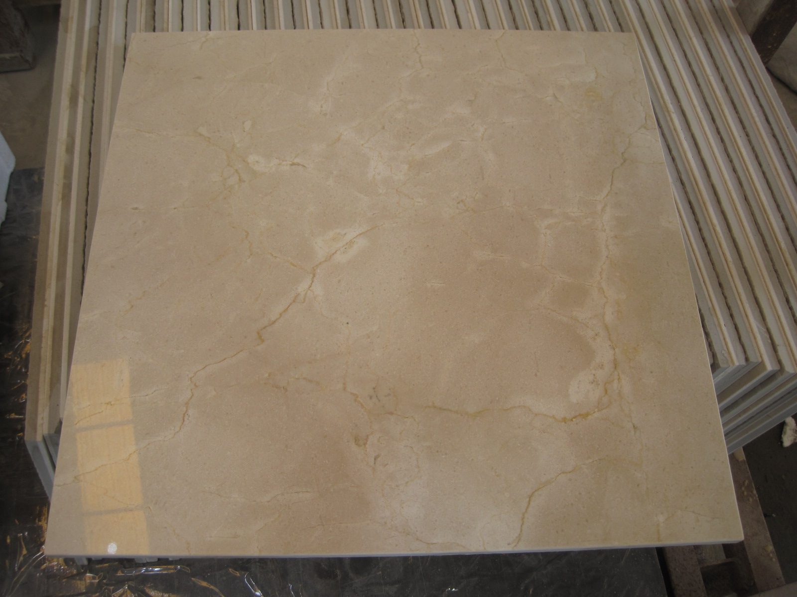 Cream marfil Ceramic Laminated Panel