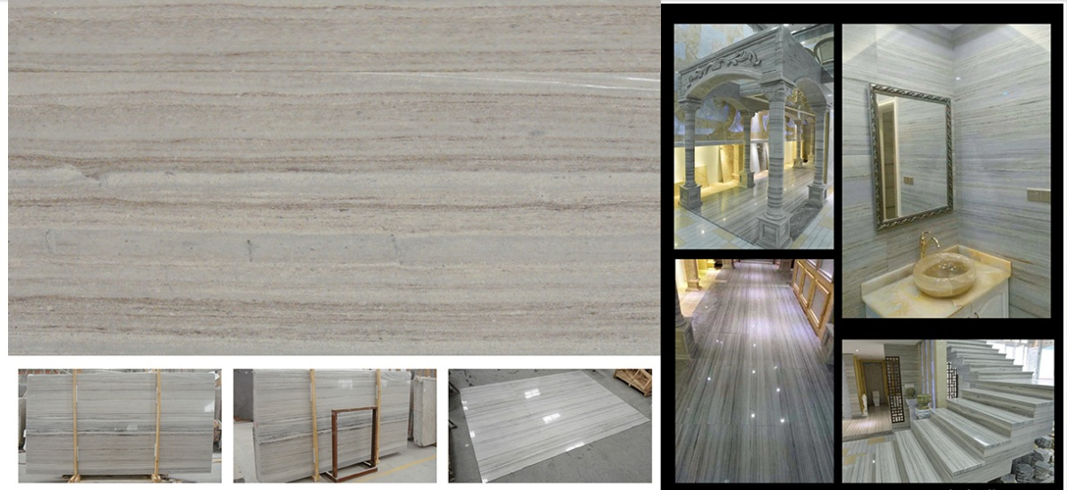 crystal Palissandro wooden marble