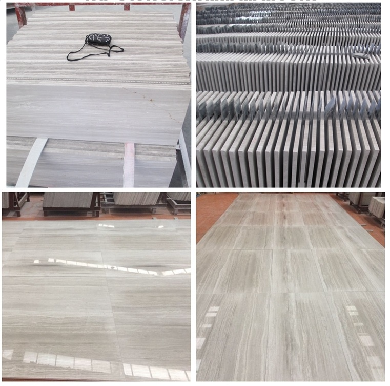 white wood marble tile