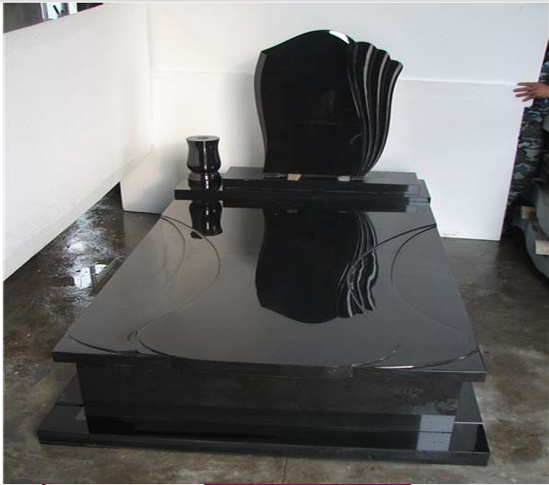 China Black Granite Monument/Tombstone/Gravestone
