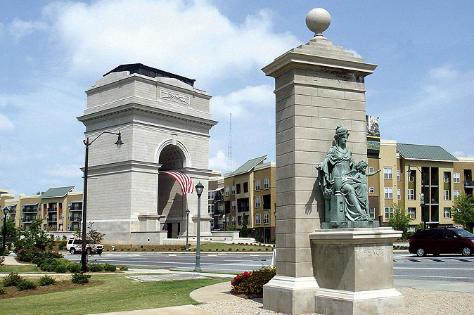 New monumental Arch in the USA, dedicated to the Millennium