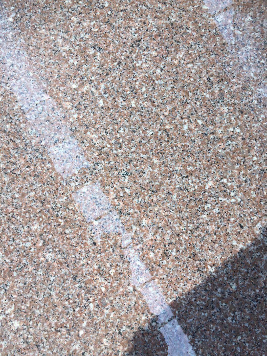 New G687 Peach red granite