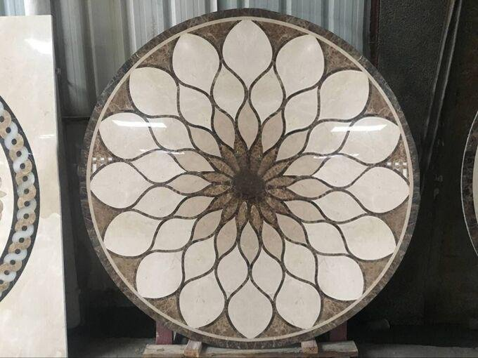 wholesale Waterjet Marble Tiles D