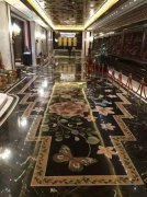 Hotel marble mosaic pattern