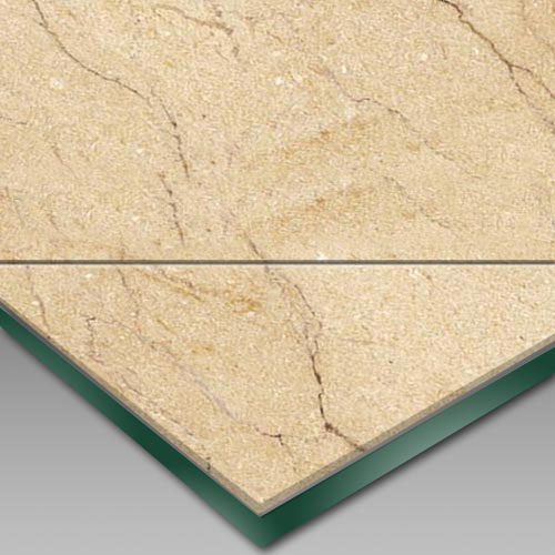 Sahara Beige Glass Laminated Panel