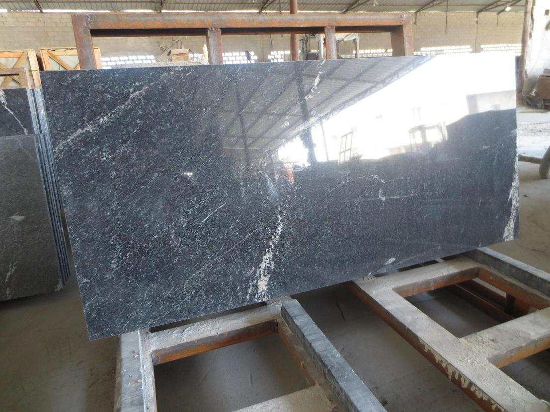 China Ebony granite tile