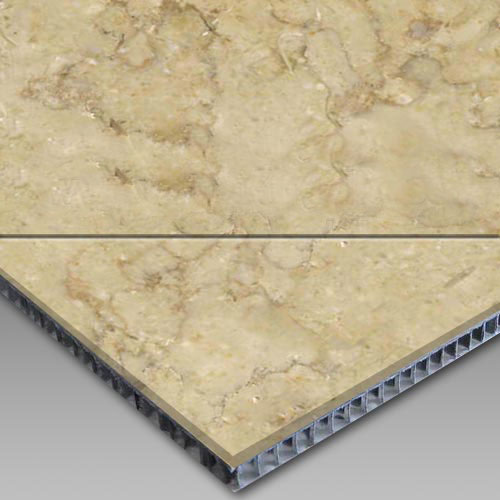 Galala Beige Aluminum Honeycomb Laminated Panel