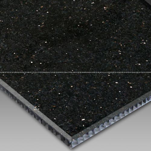 Black Galaxy Aluminum Honeycomb Laminated Panel