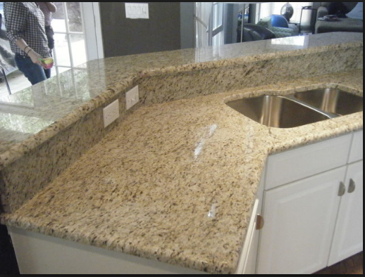 Glallo-Oranmental countertop