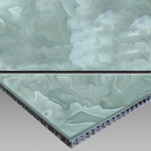 Blue Onyx-AluminumHoneycomb Laminated Panel