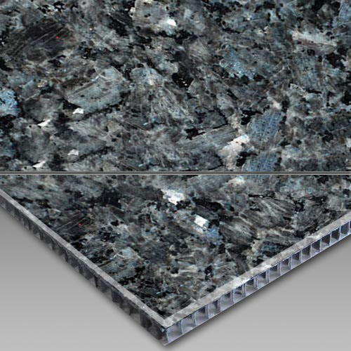 Blue Pearl-Aluminum Honeycomb Laminated Panel