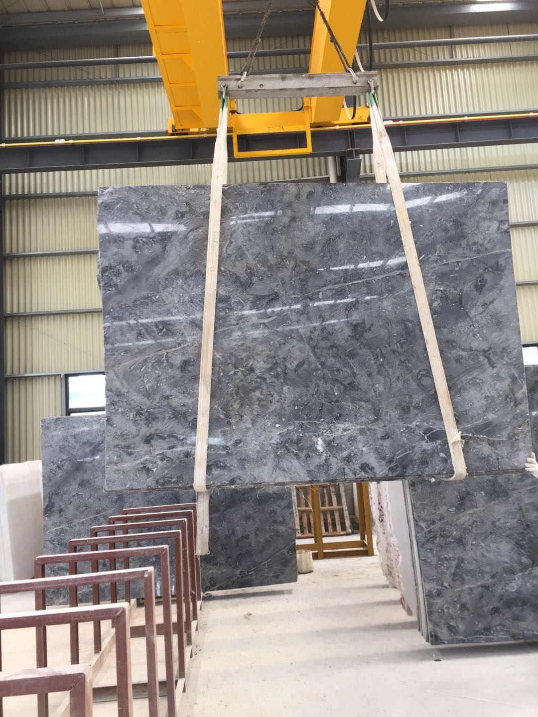 Romantic gray china marble