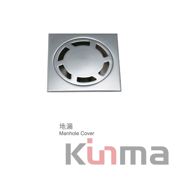 Shower floor drain cover