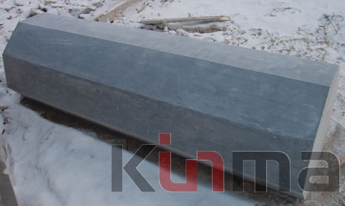 dark blue Limestone paving