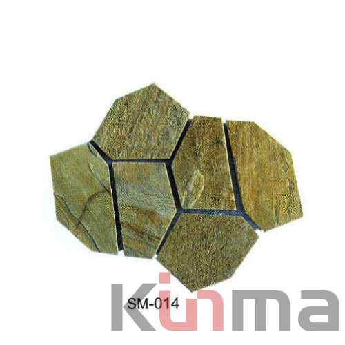 Natural Slate stepping Stone and slate SM-014